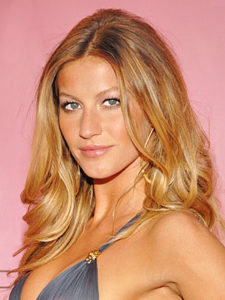 gisele bundchen with makeup