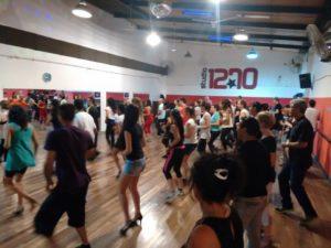 Salsa class in Argentina