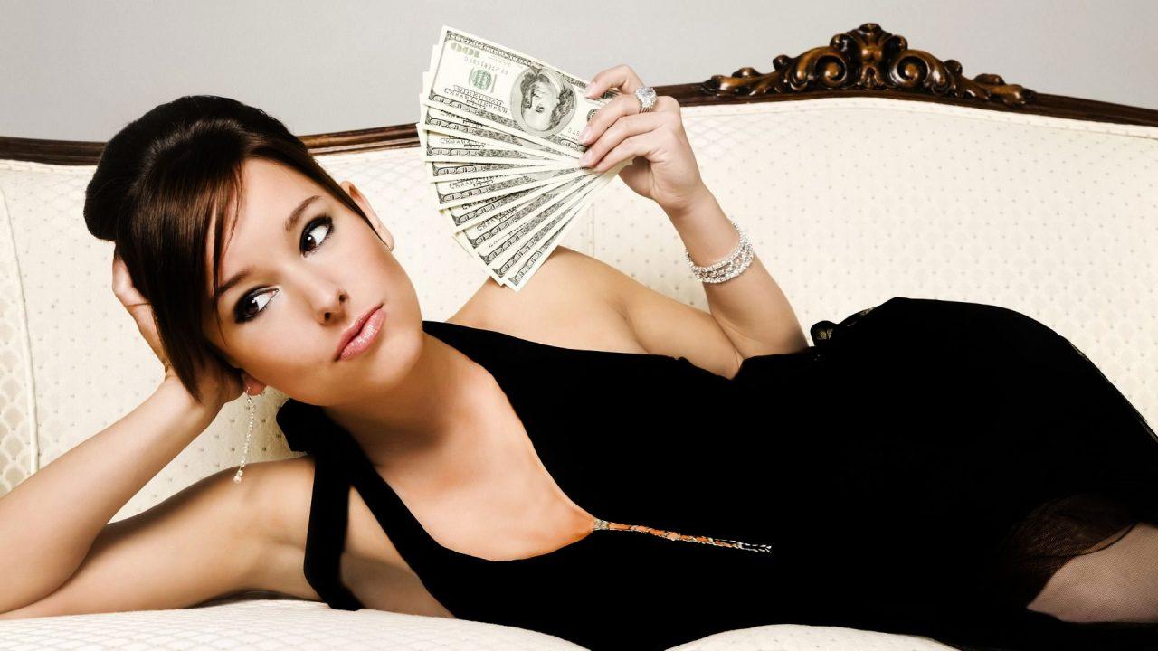 Those women who encourage their man to get into debt