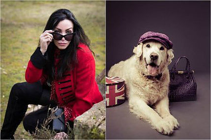 This former female model who wants to marry her dog